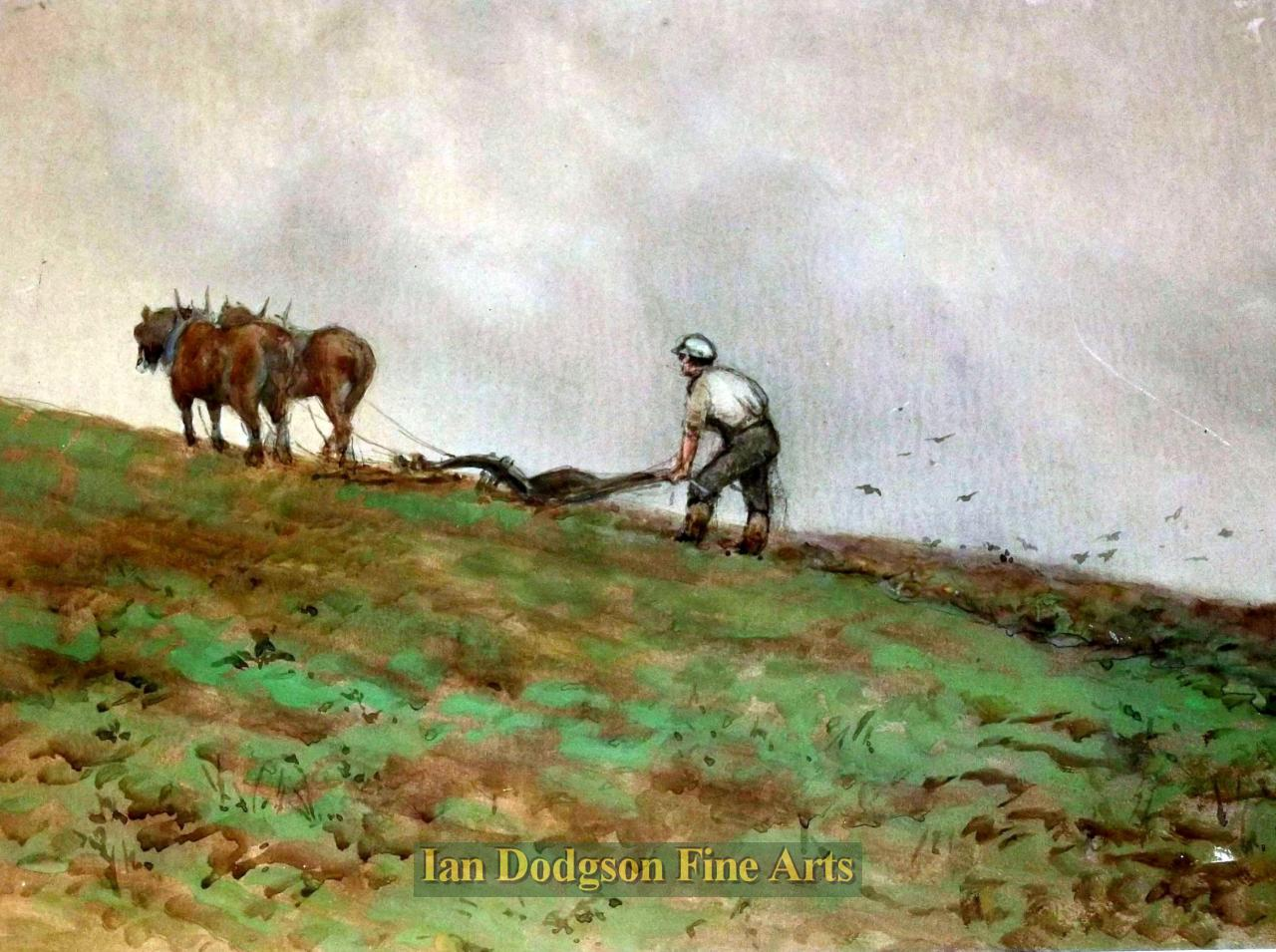 The Ploughman by Att. David Thomas Robertson