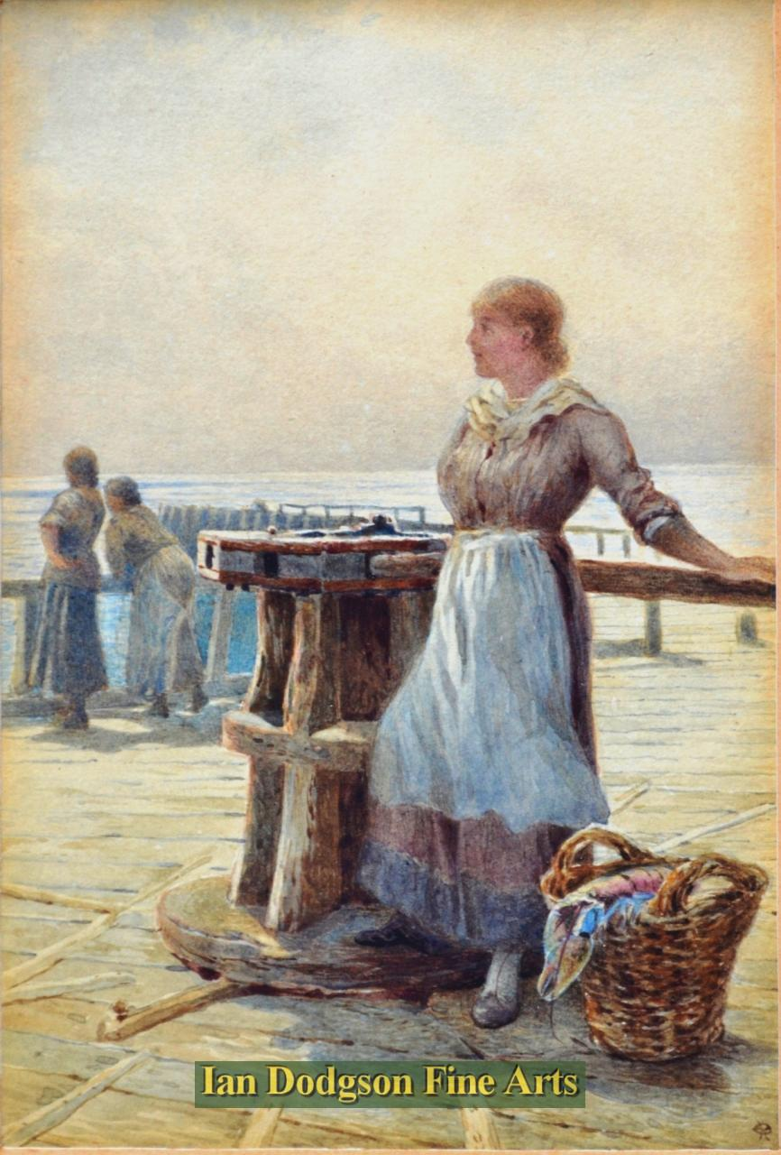 The Fishergirl by Charles Robertson