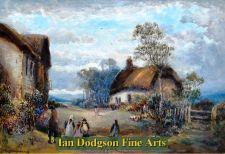 Cottages at Kidlington by William Manners