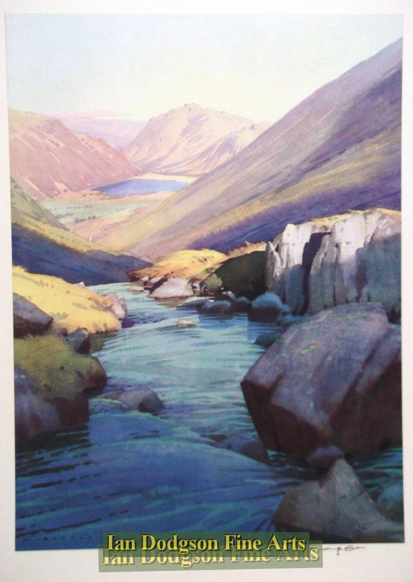 Brothers Water from Kirkstone Pass by William Heaton Cooper