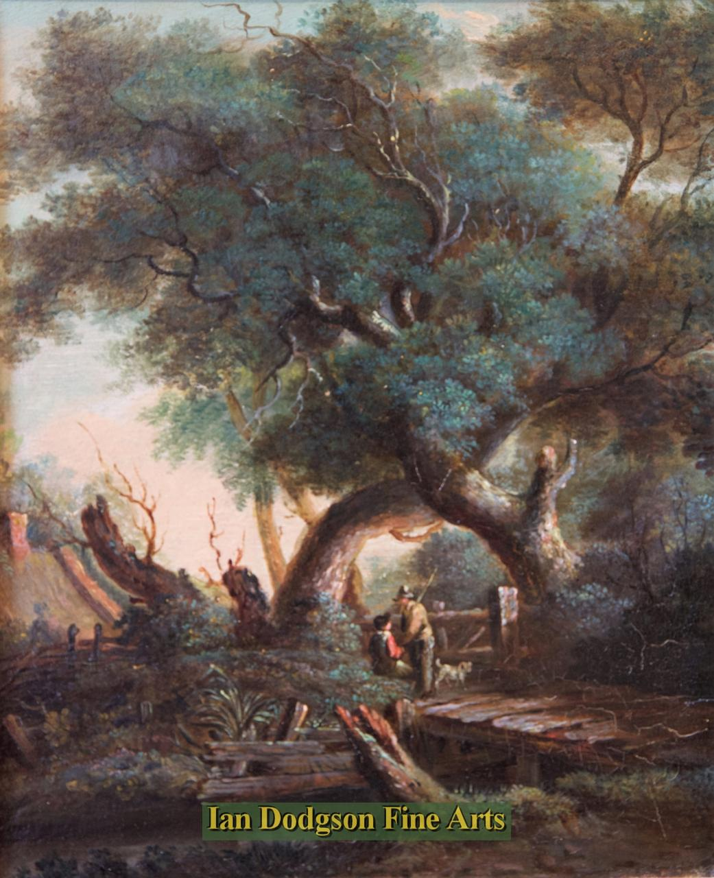Under The Old Oak Trees by   Williams