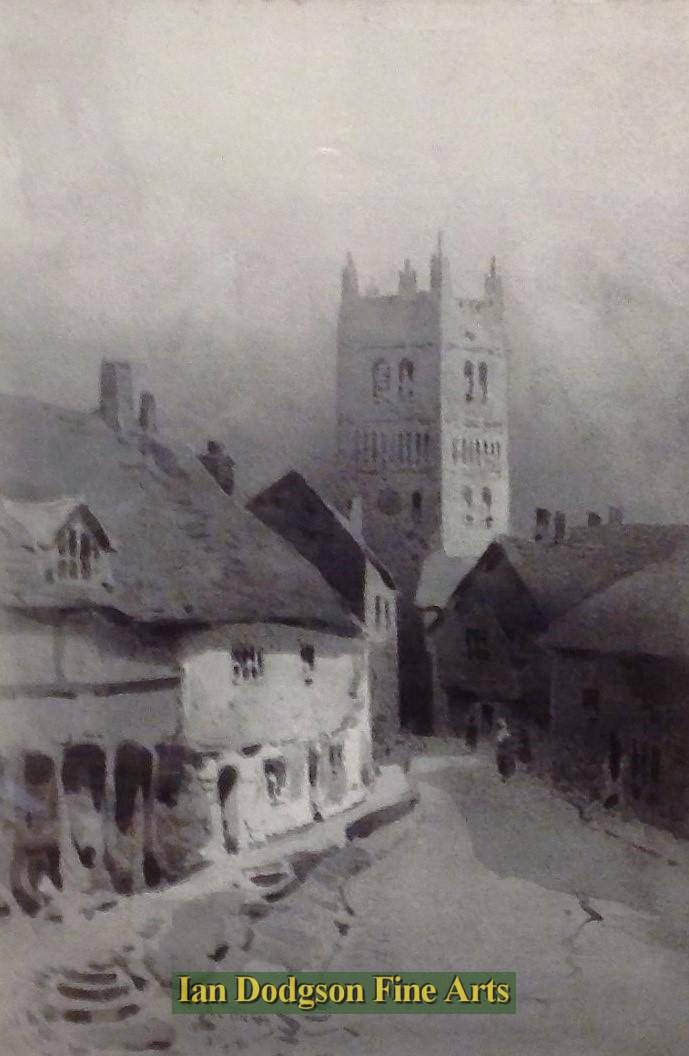 Tewkesbury by Arthur Tucker