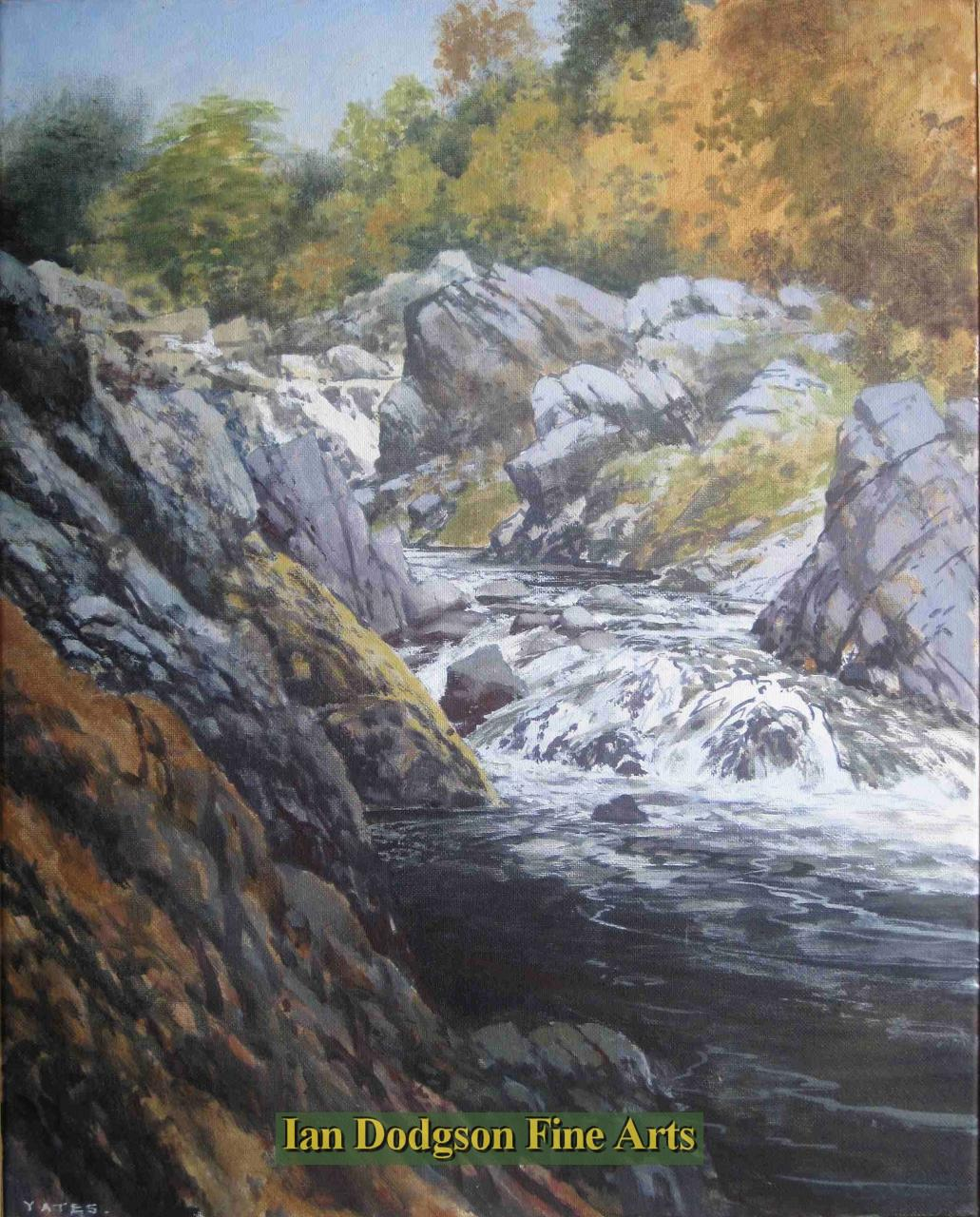 Rocks and Water (Afon Machno) by Jeremy Yates