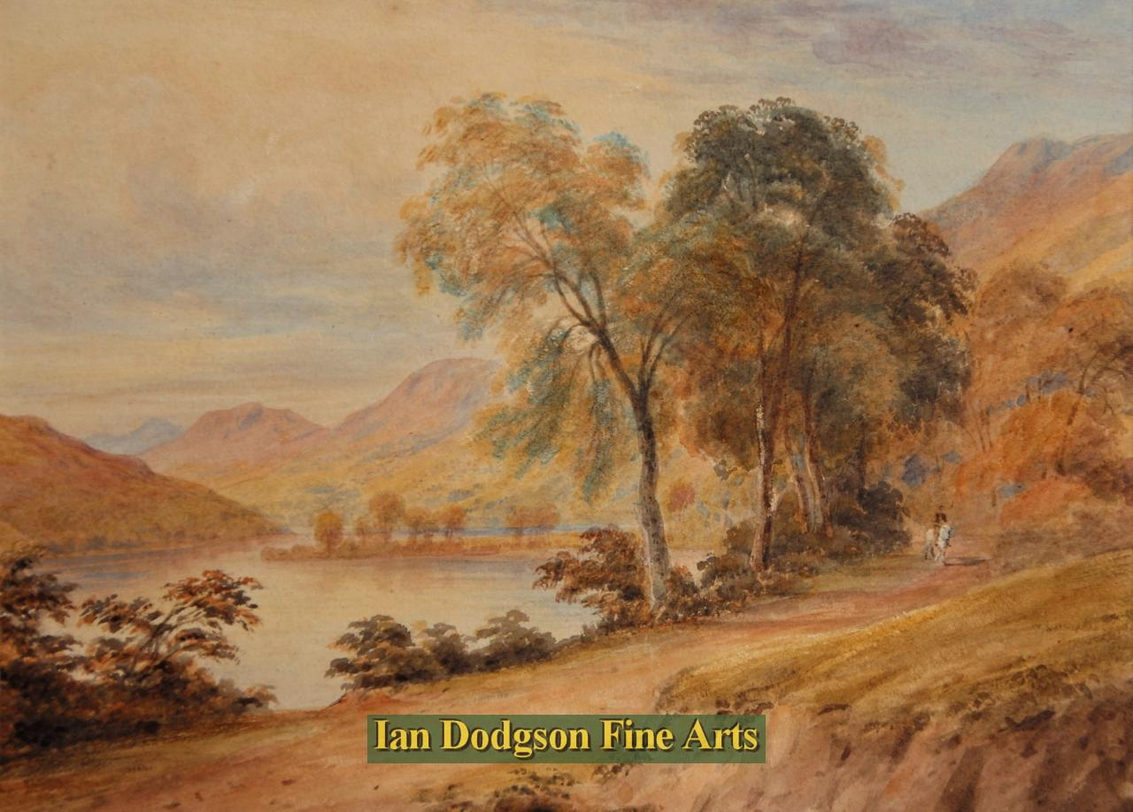 Loch Earn by Arthur Perigal