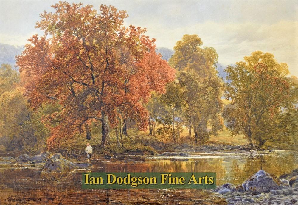 Autumn on the river by James Jackson Curnock