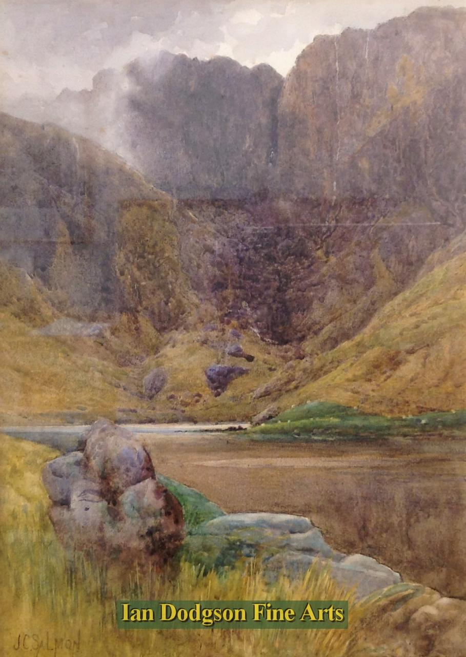 Cwm Idwal by John Cuthbert Salmon