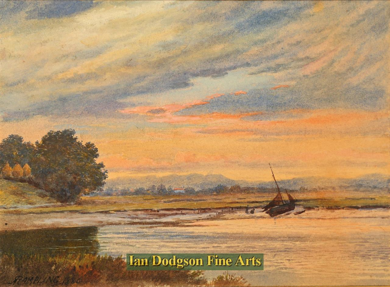 Dawn on the estuary by Robert Rampling