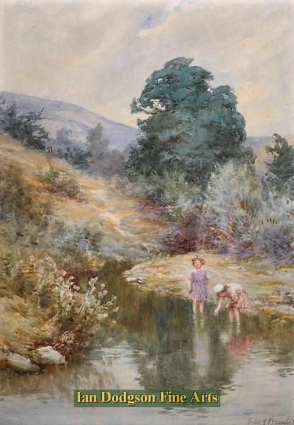 Summers day, North Wales by Frederick J Knowles