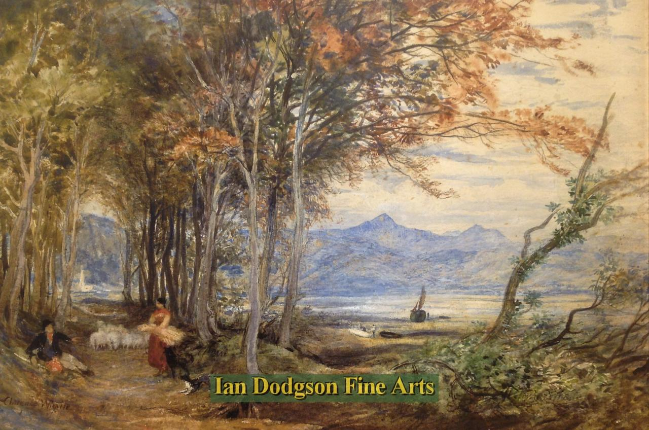 Snowdon from near Porthmadog by Henry Clarence Whaite