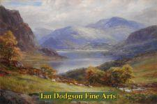 In the Lakes, Ennerdale Water by William Lakin Turner