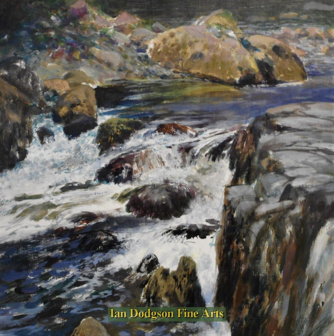 Water over Rock  No1, Ogwen by Jeremy Yates