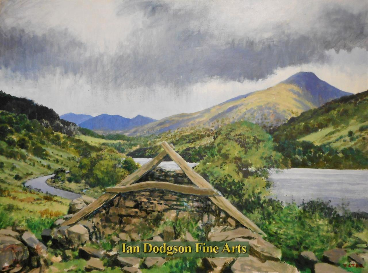 Cruck Gable, Gwynant by Jeremy Yates