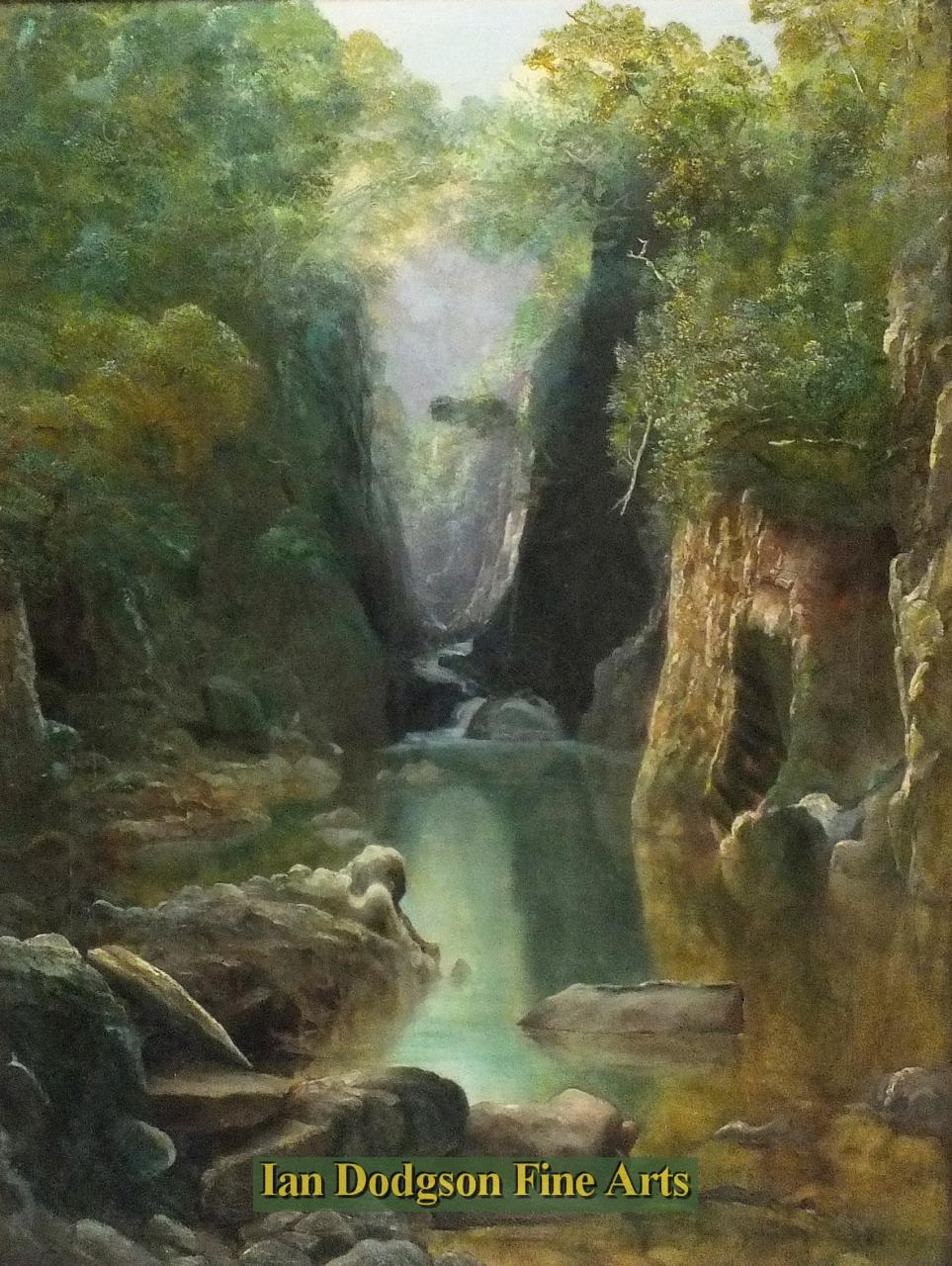 Fairy Glen, Betws-y-Coed, N Wales by Thomas Finchett