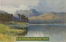 Langdales from Blea Tarn by Arthur Tucker