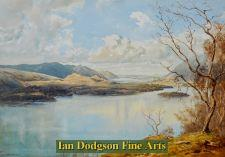 Derwent water and Bassenthwaite lake by Bernard Eyre Walker