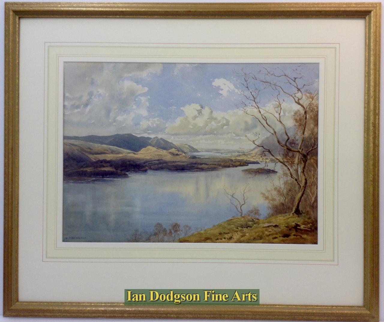 Bernard Eyre Walker A.R.E.,S.G.A. - Derwent Water and Bassenthwaite Lake
